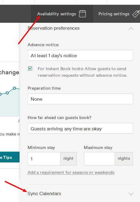 AirBnB configuration - step 3