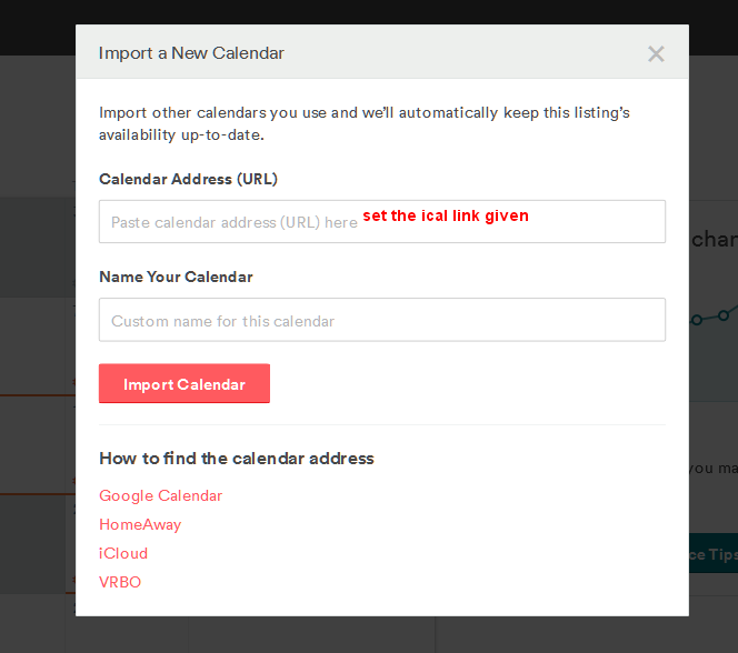 AirBnB configuration - step 5