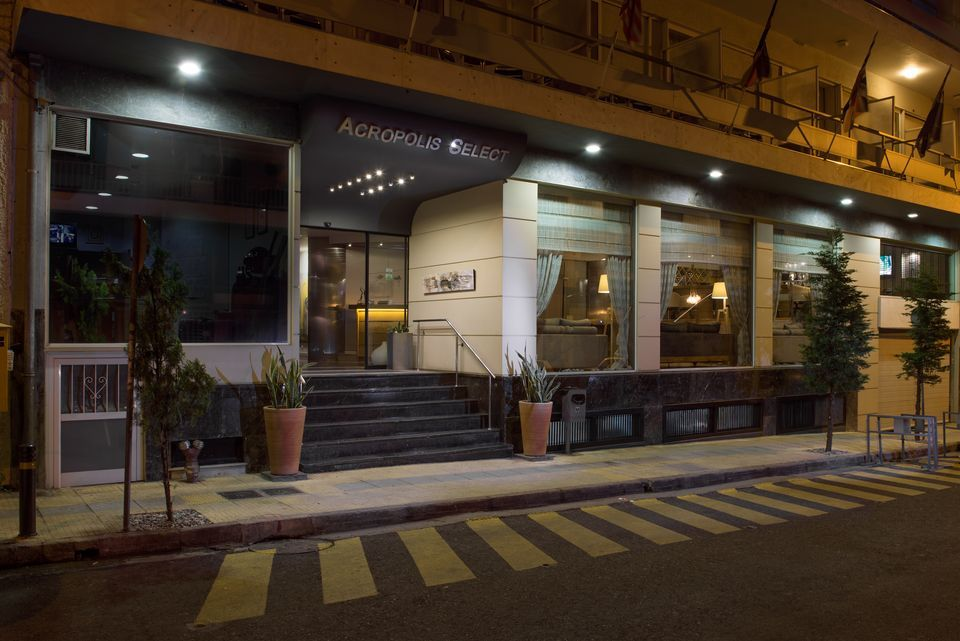 Acropolis Hill Hotel Athens Booking Com