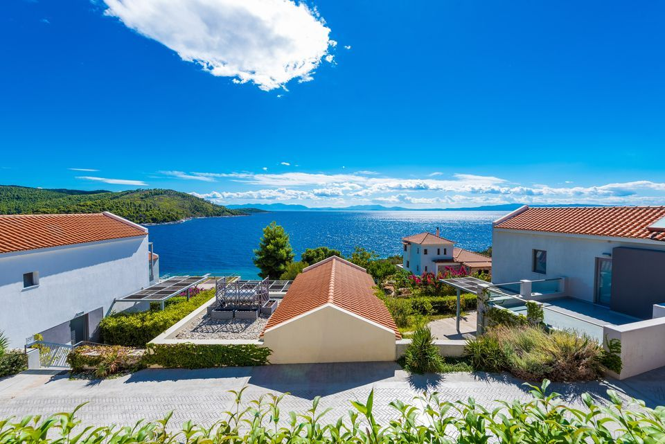 Skopelos Hotels,  Deluxe One Bedroom One Level Sea View Villa
