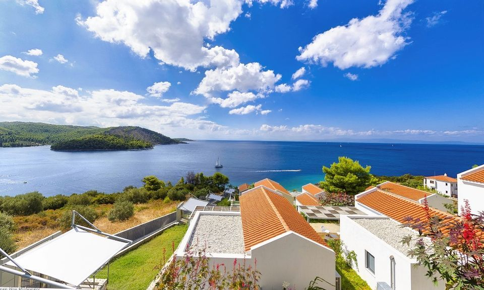 Skopelos Hotels, Deluxe One Bedroom Two Level Sea View Villa