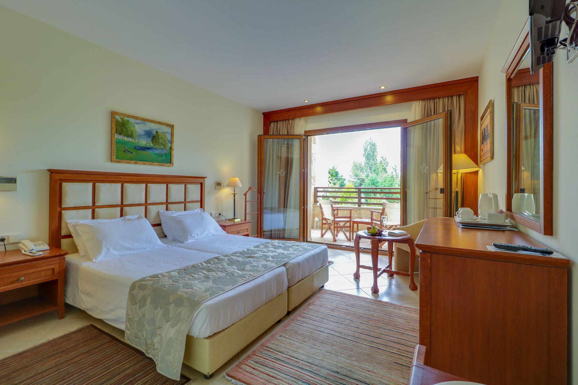 Junior Suite Pool View Aegean Melathron Thalasso Spa Hotel