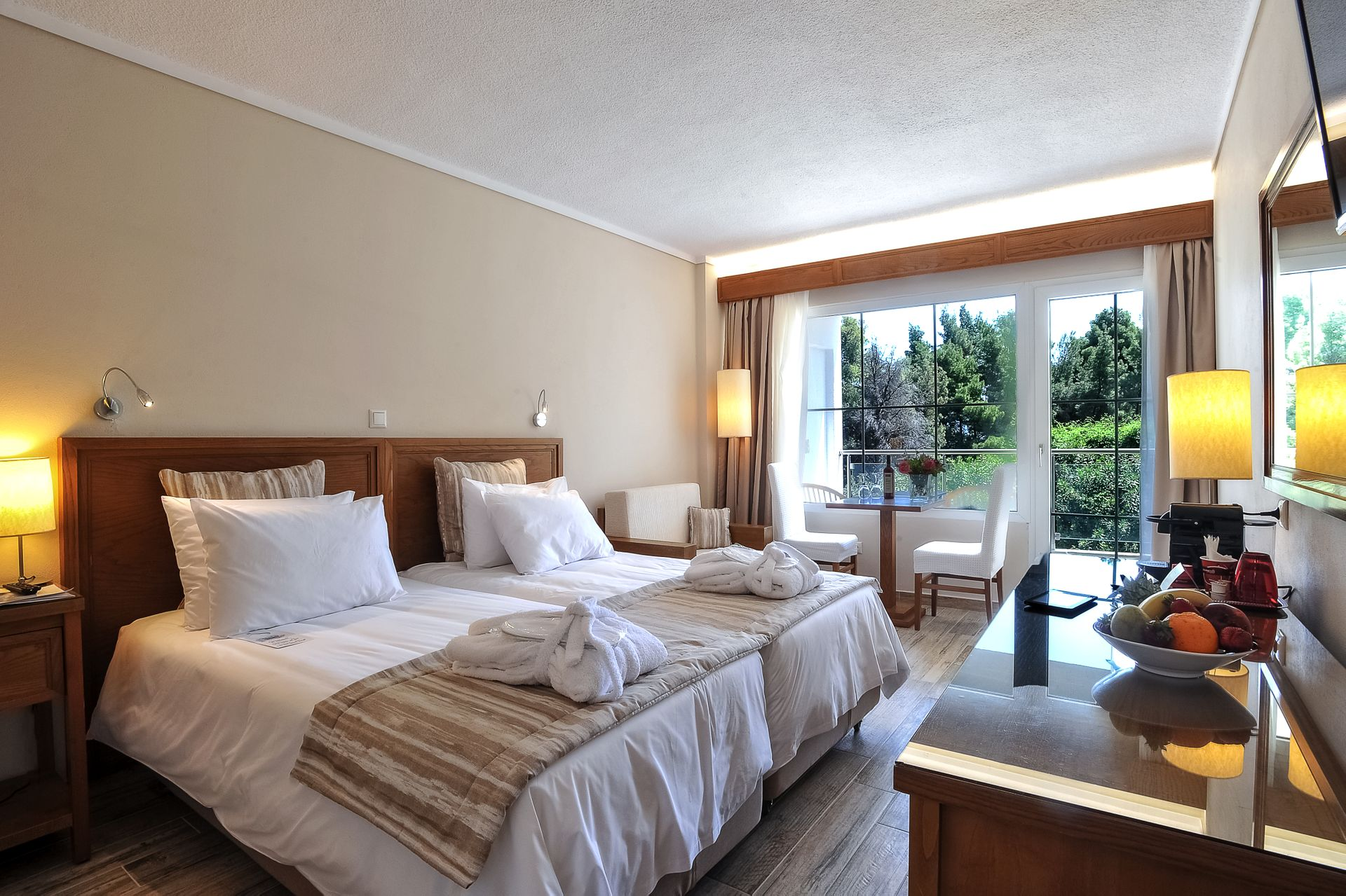 Family Connecting Rooms Side Sea View Alexander The Great Beach Hotel In Kriopigi Chalkidiki Greece Book Online