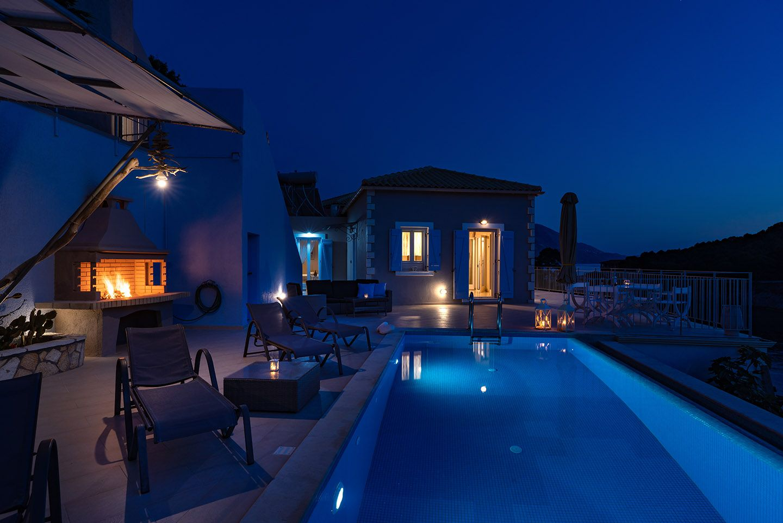Villas with private pool in Kefanonia, ASSOS VIEW VILLAS
