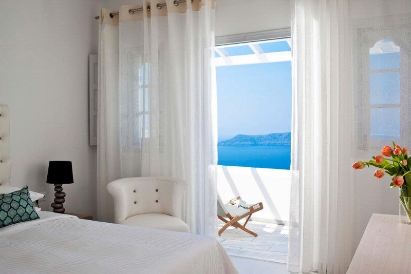 Junior Suite Belvedere Hotel Santorini 4 Star Hotel In