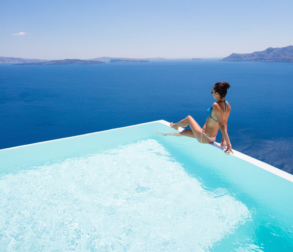 Infinity Pool Suite Caldera Sea View - Canaves Oia Hotel