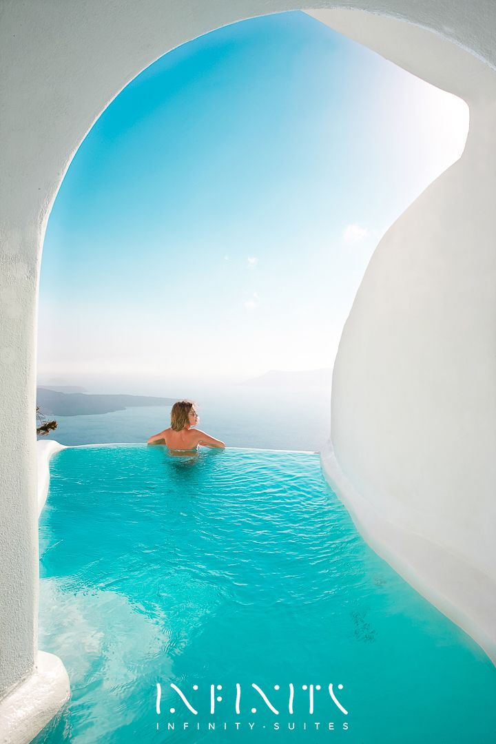 The Honeymoon Villa Indoor And Outdoor Heated Plunge Pools With Jacuzzi Dana Villas Santorini Hotel Firostefani Greece Book Online