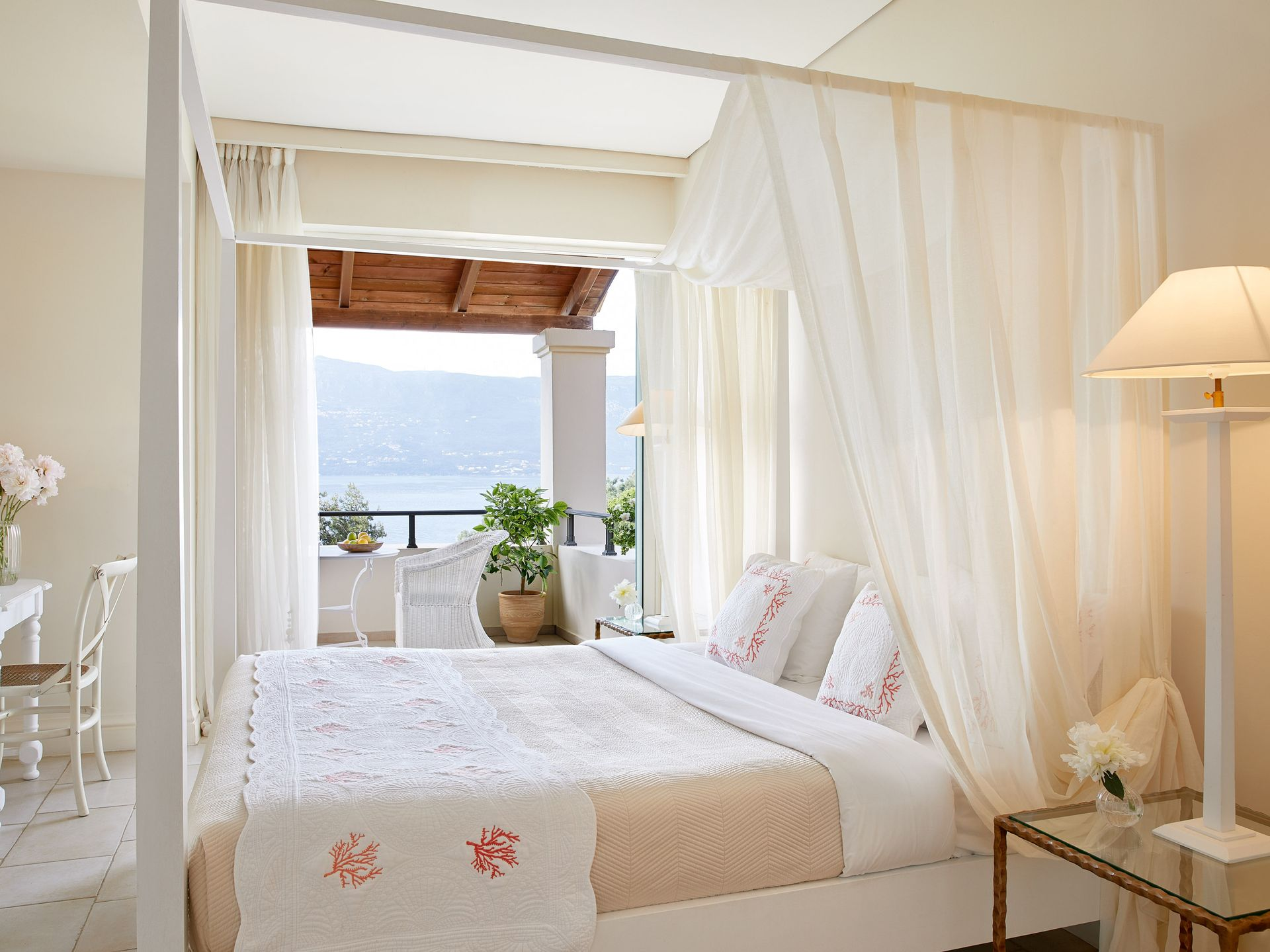 Deluxe Bungalow Suite Side Sea View Grecotel Eva Palace