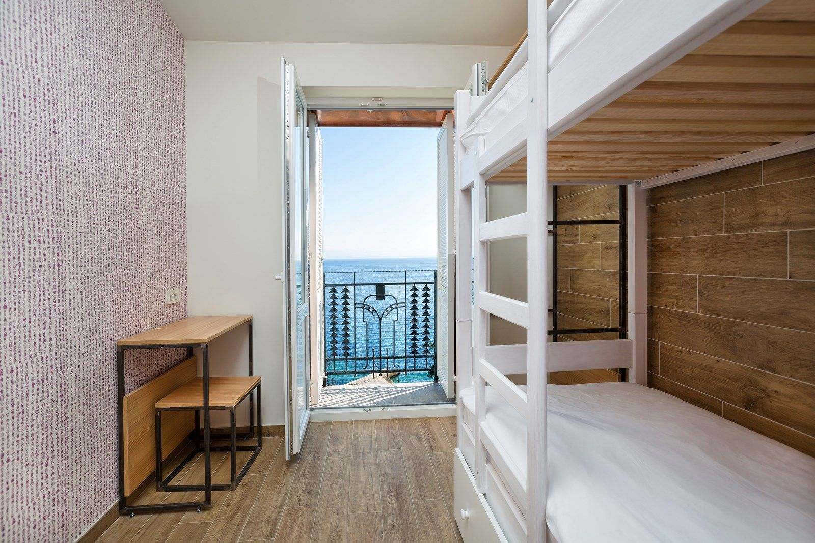 Twin Room with Bunk Beds 14 m² Sea View