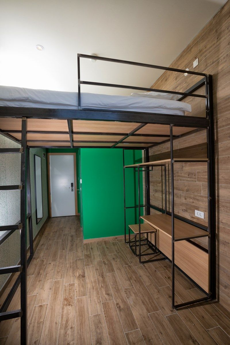 Picture of: Double Room With King Size Bunk Bed 14 M Sea View Hostel Link Lovran Book Online