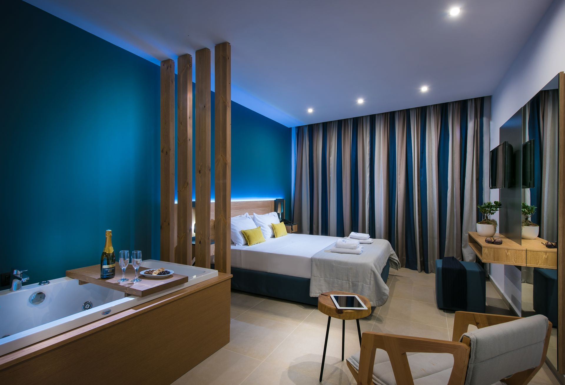 Superior Double Room With indoor Jacuzzi - Infinity Blue Boutique ...