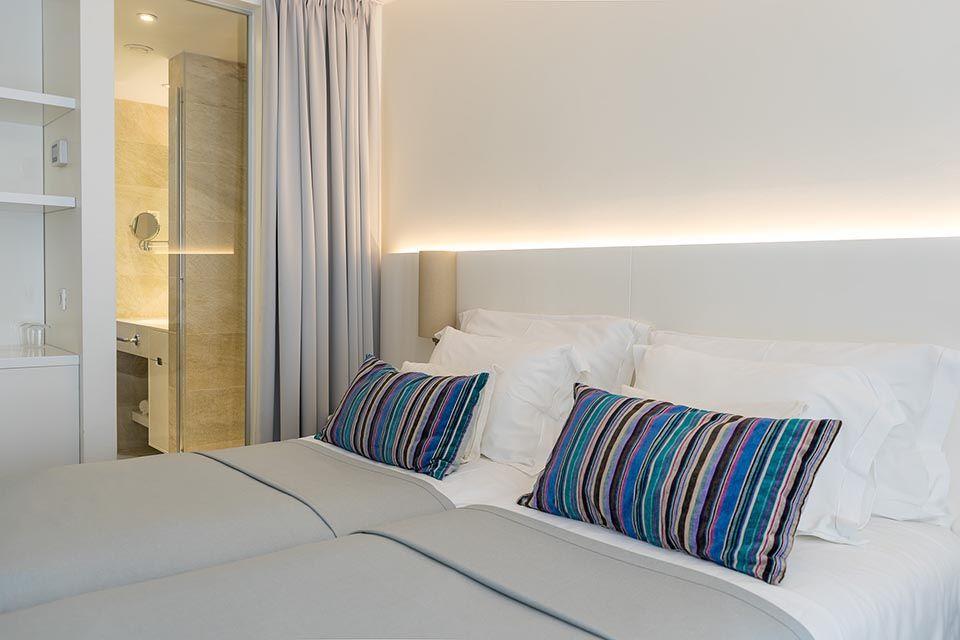Doppel- oder Zweibettzimmer, 22 m² Atriumblick-2