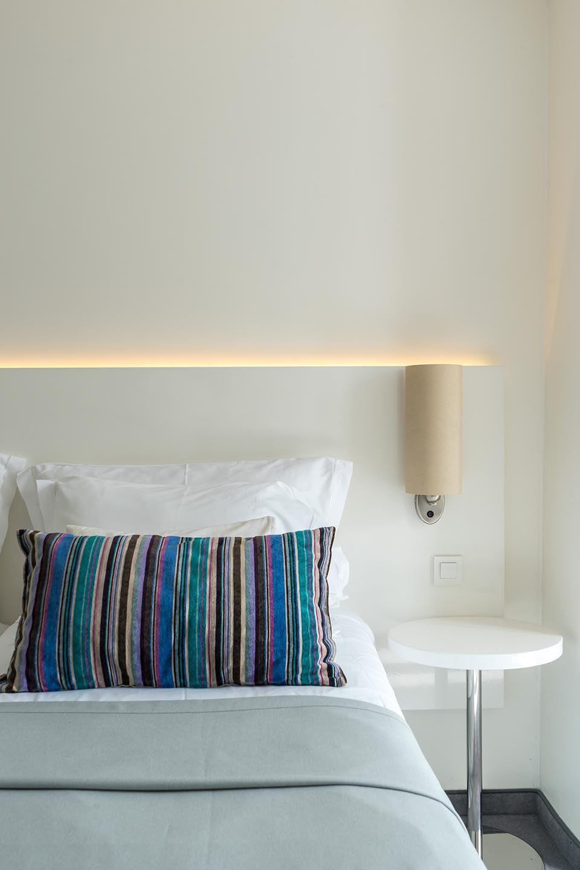 Doppel- oder Zweibettzimmer, 22 m² Atriumblick-3