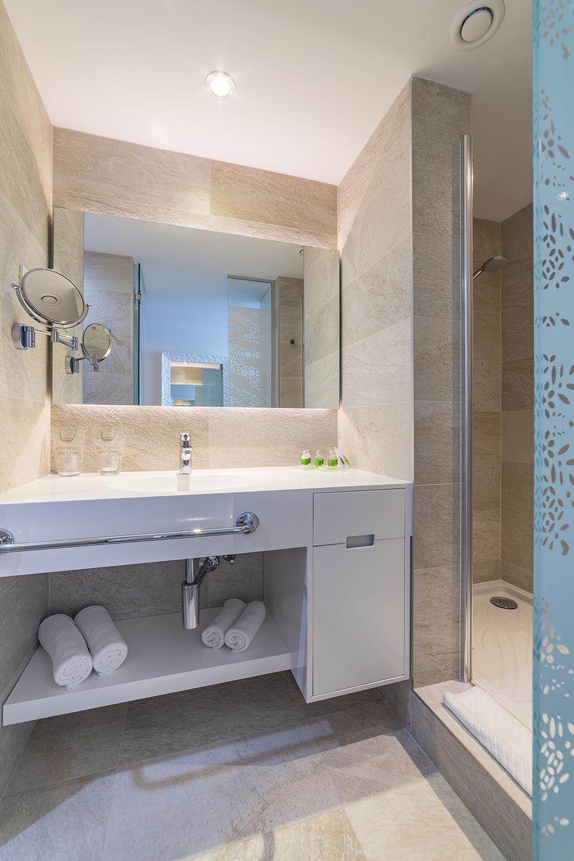 Doppel- oder Zweibettzimmer, 22 m² Atriumblick-5
