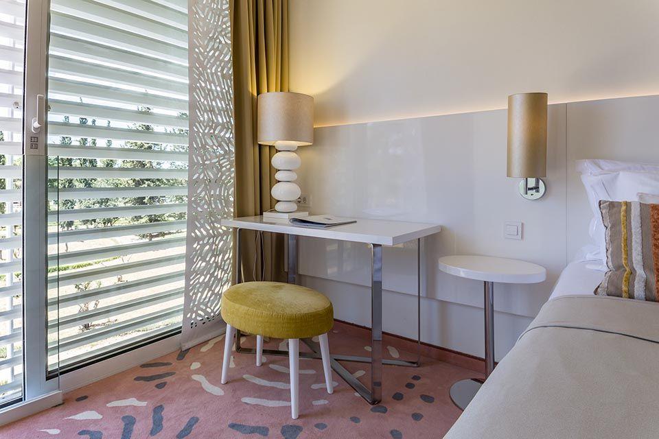 Doppel- oder Zweibettzimmer, 22 m² Parkblick, mit Balkon-2