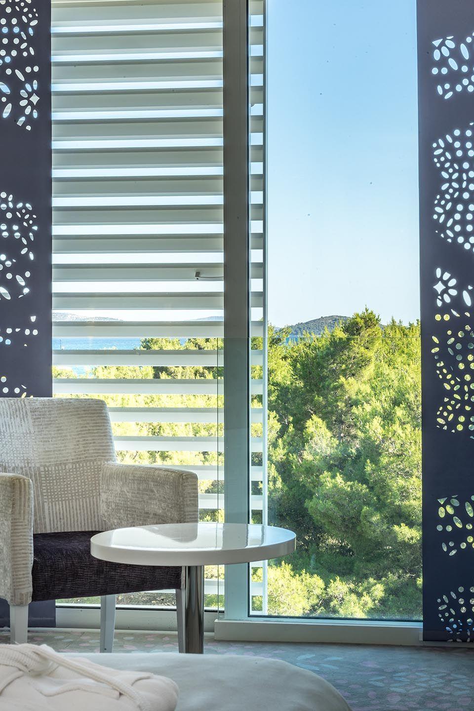 Doppel- oder Zweibettzimmer, 22 m² Meerblick, mit französischem Balkon-5