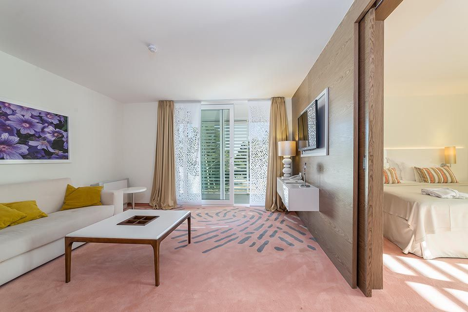 Suite 46m² on the Courtyard / Garden with Balcony-7