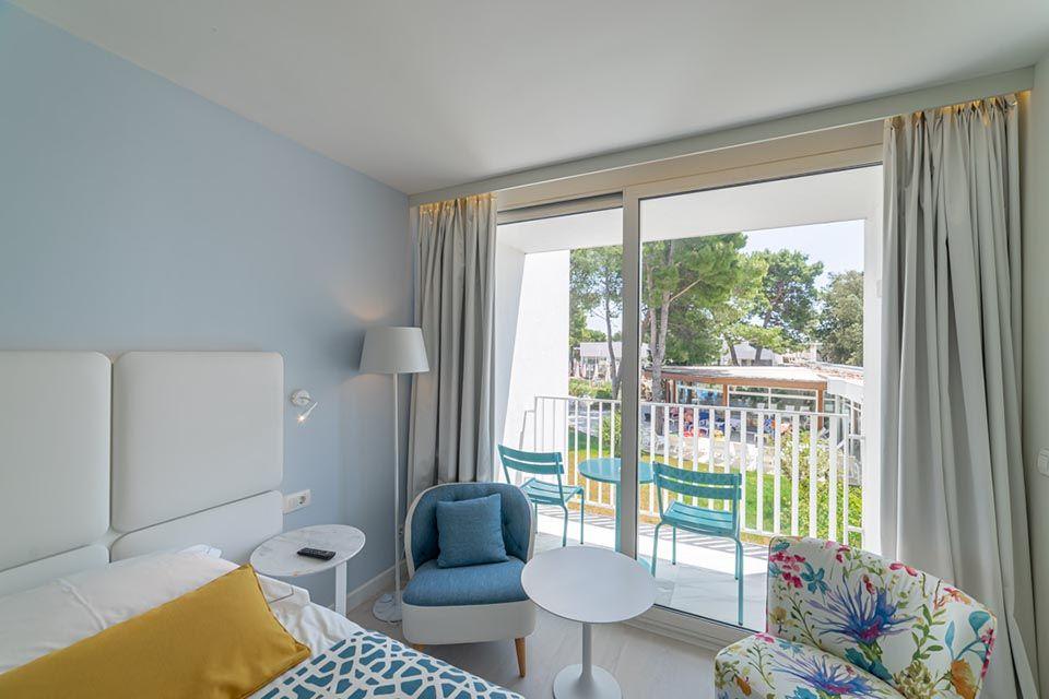 Povezane Obiteljske Sobe 62m² Pogled Dvorište/Park s Balkonom-2