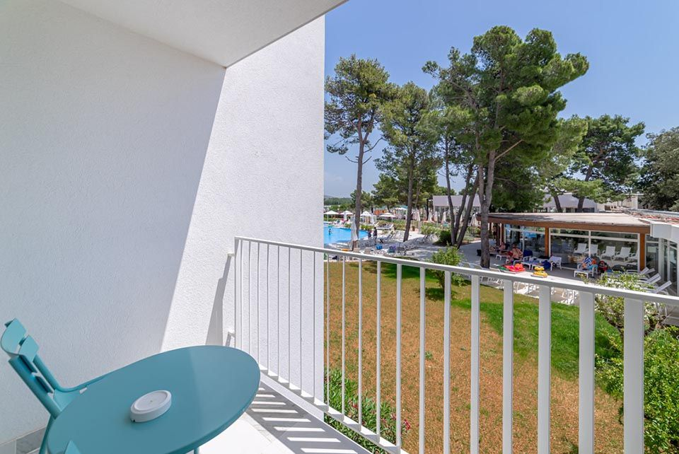 Povezane Obiteljske Sobe 62m² Pogled Dvorište/Park s Balkonom-3