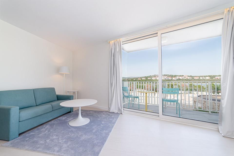 Family Large Room 42m² Sea View with Balconies-3