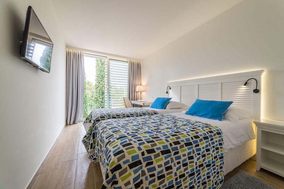 Doppel- oder Zweibettzimmer, 22 m² Parkblick, mit französischem Balkon-2