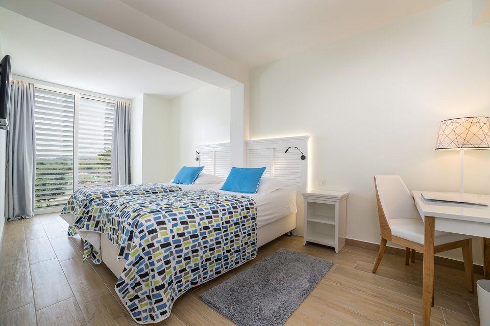 Dvokrevetna soba Extra Large +2 38m² s  Pogledom  Dvorište/Vrt sa Balkonom-6