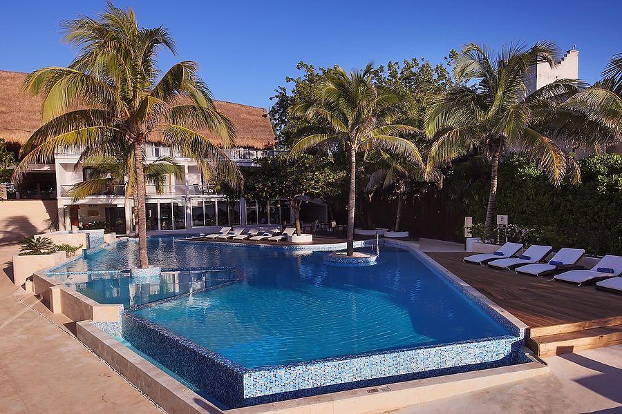 Hotel Le Rêve Spa Pool Playa Del Carmen Riviera Maya