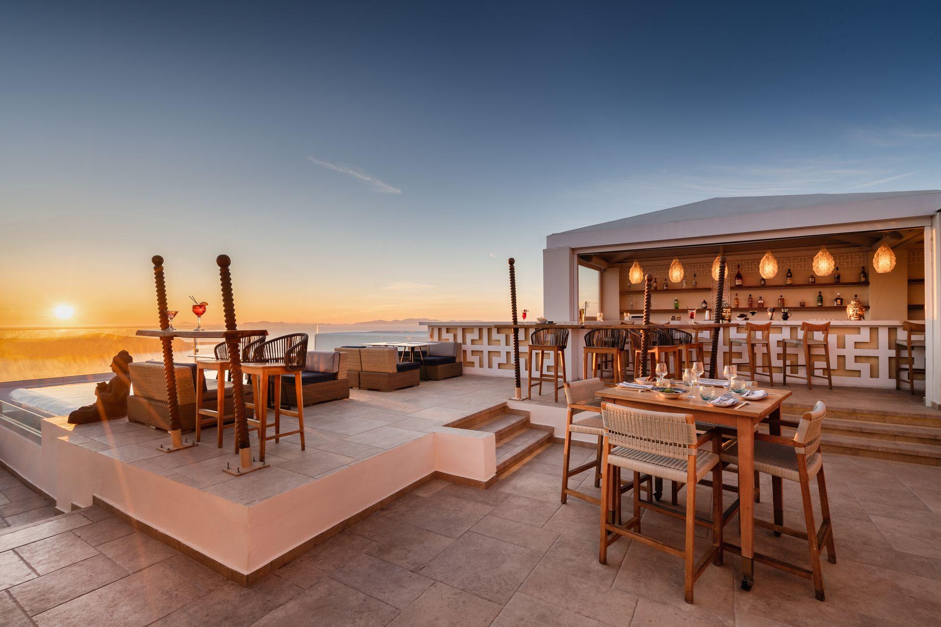 La Maltese Estate Buddha Bar Beach Santorini Greece