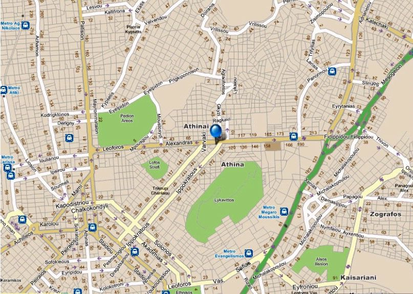 Map Directions Athens Zafolia Hotel Greece Book Online