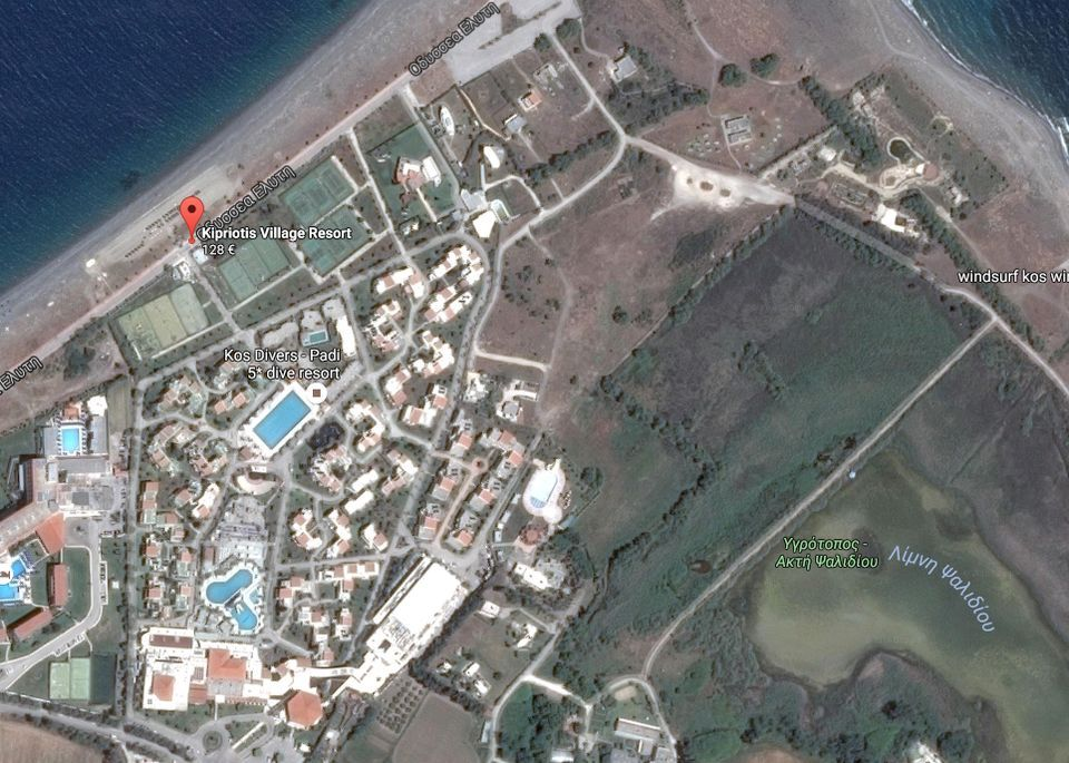 Map & directions - Kipriotis Village Resort Kos, Kipriotis ...