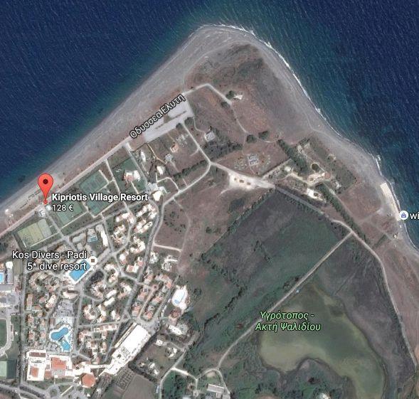 Map & directions - Kipriotis Village Resort Kos, Kipriotis Village