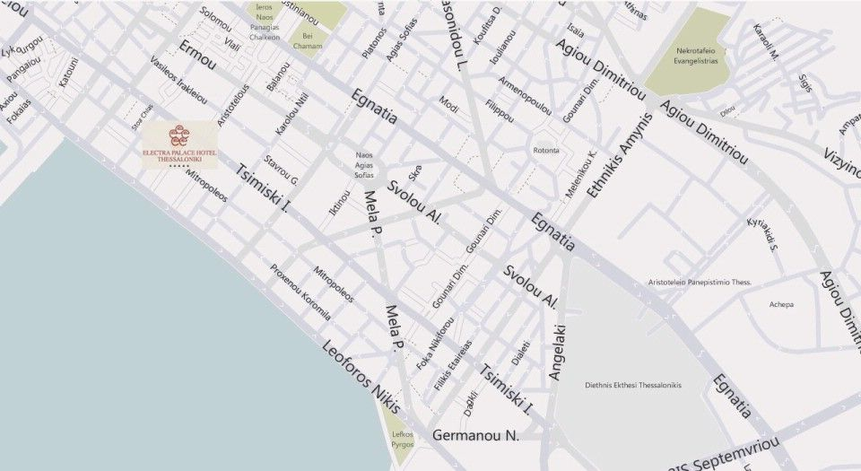 Map Directions Electra Palace Thessaloniki Greece Book Online