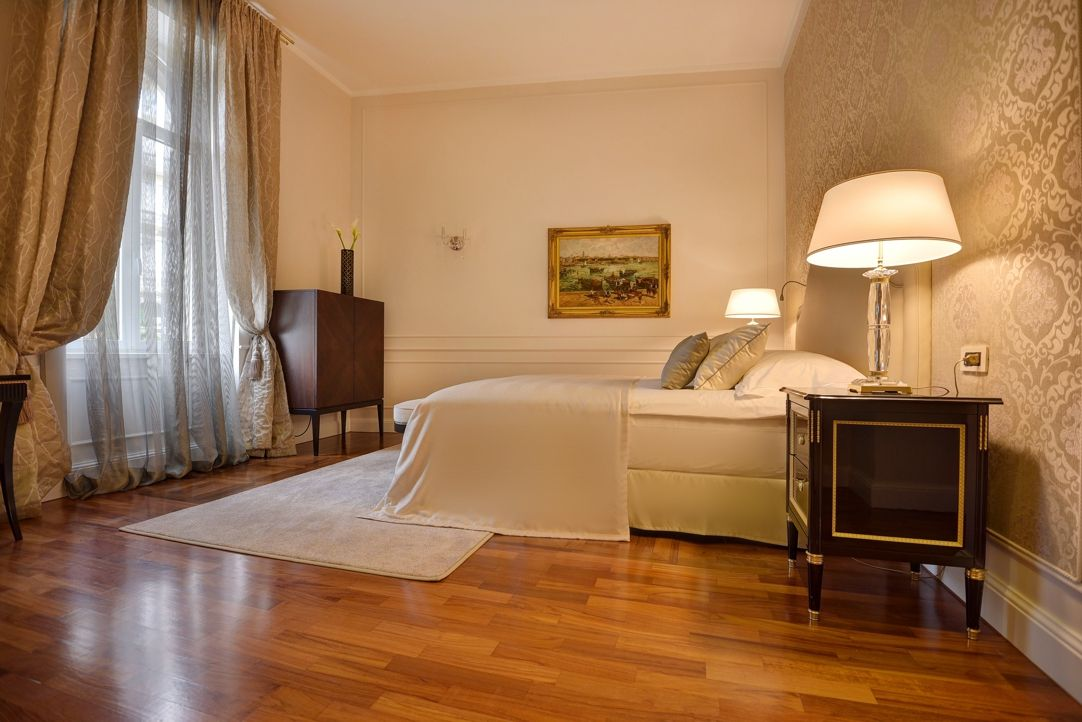Deluxe Double Room Historical Villa 28m² Opatija View-4