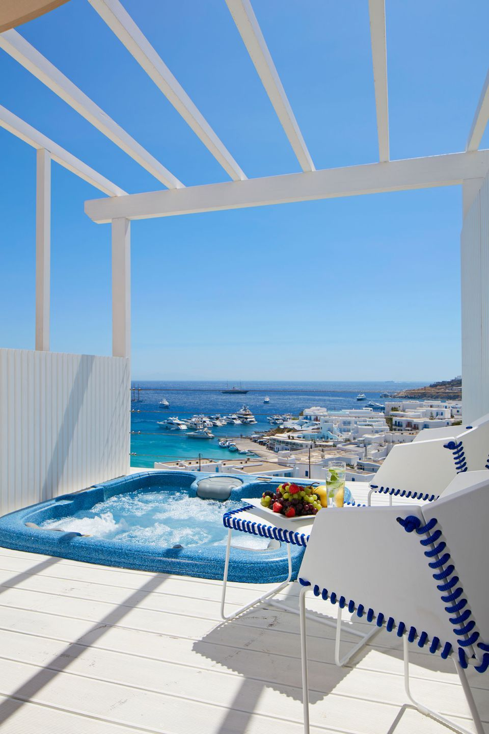 True Blue With Outdoor Jacuzzi Sea View Myconian