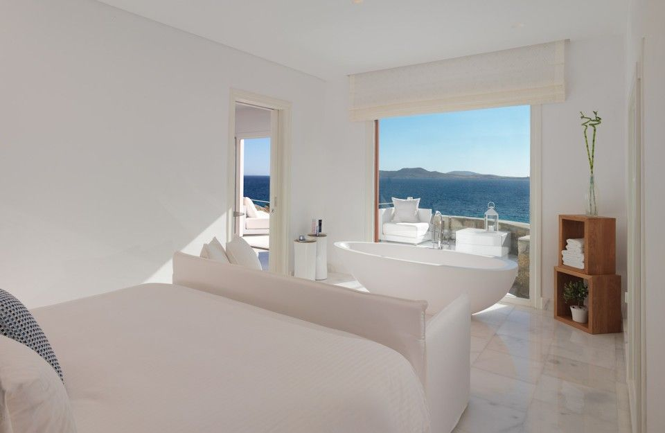 Deluxe Suite Sea View With Private Pool Mykonos Grand