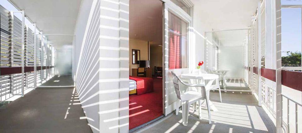 Suite, 38 m² Meerblick, mit Eckbalkon-4