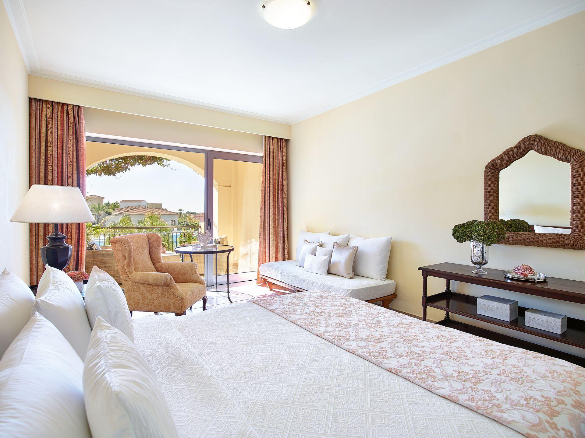 Garden Room Side Sea View Ground Floor Grecotel Hotels