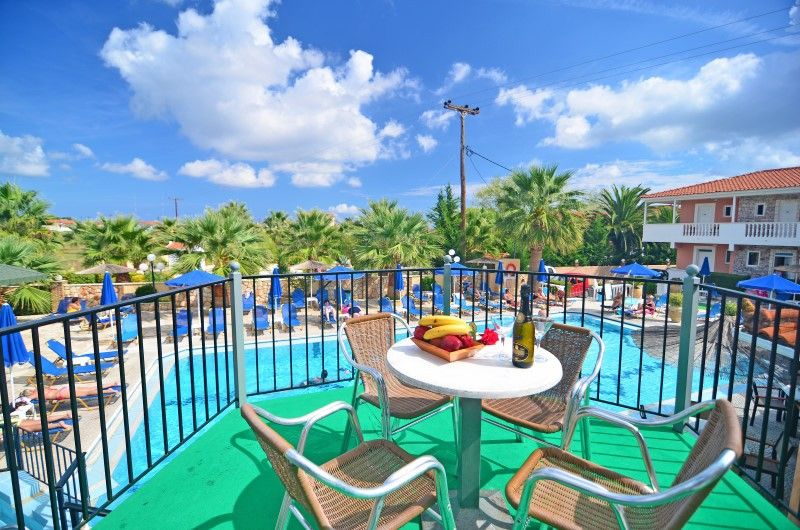 Pool House - Paradise Apartments Zante Laganas Beach ...