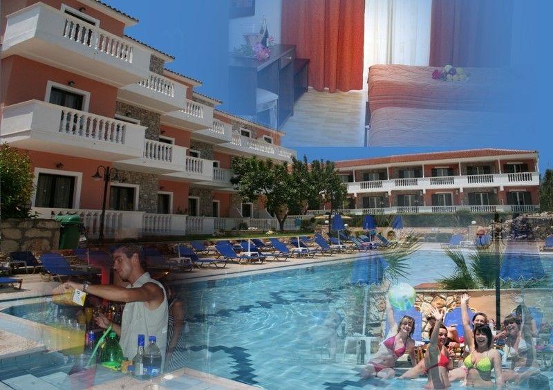 Paradise Apartments Zante Laganas Beach Zakynthos | Book ...