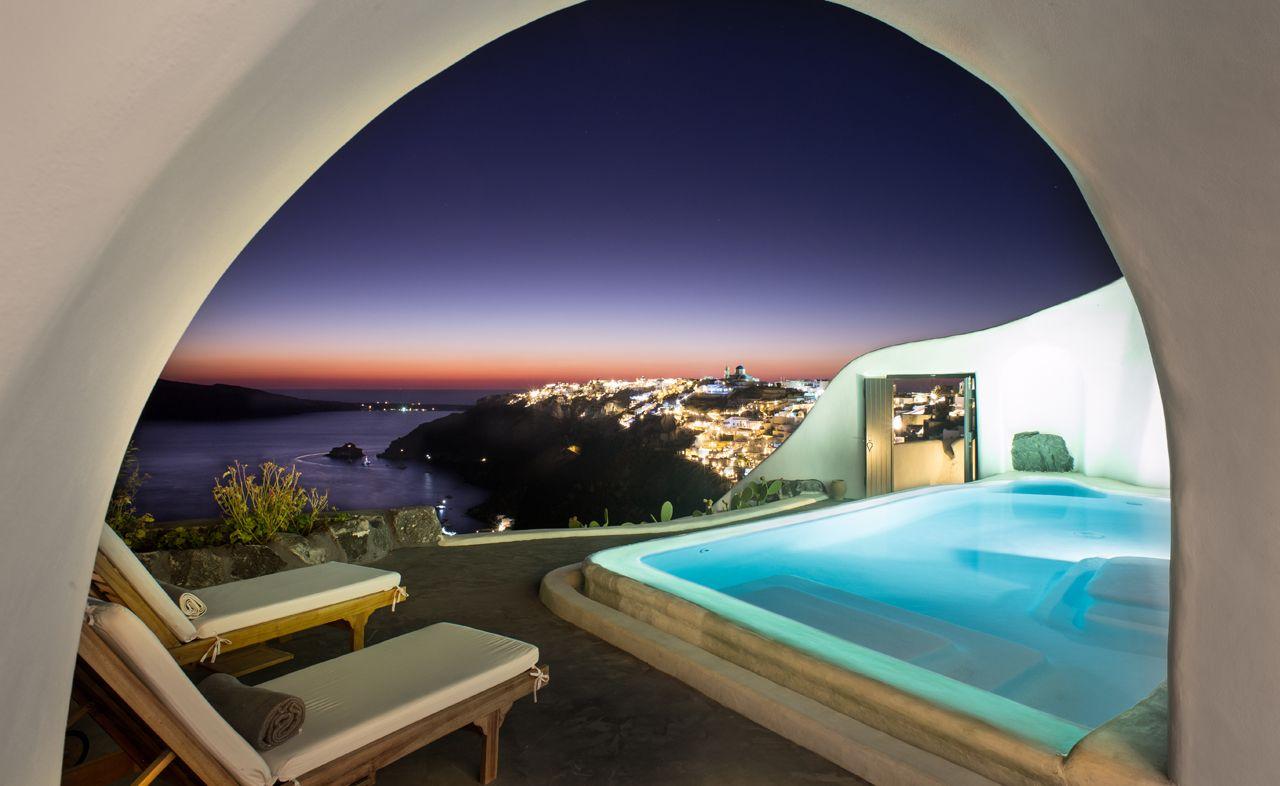 Perivolas Lifestyle Suite - private terrace