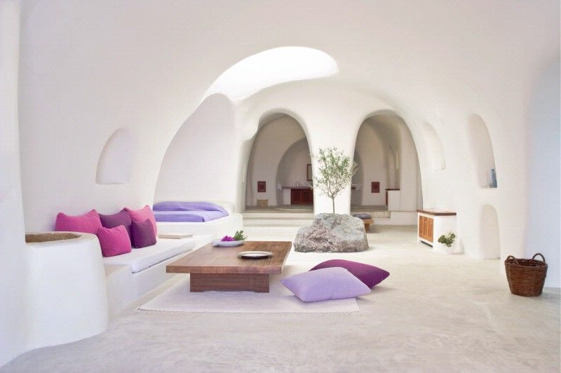 Domed bedroom and living room