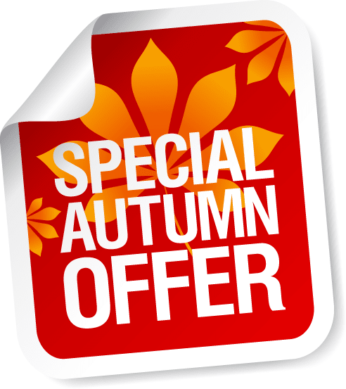 AUTUMN OFFER - ALL INCLUSIVE