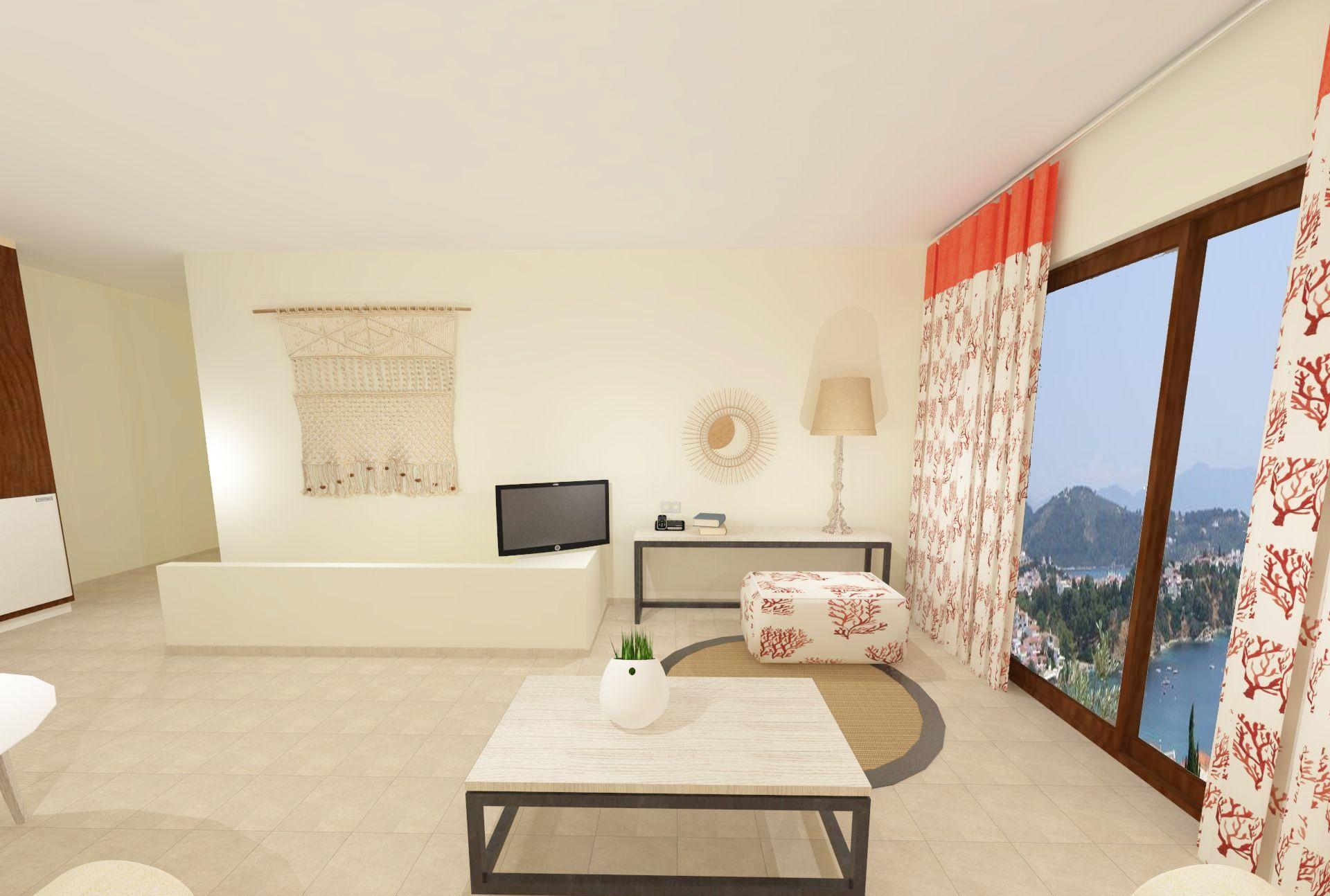 Three Bedroom Skiathos Living Sea View - Skiathos Living Hotel ...