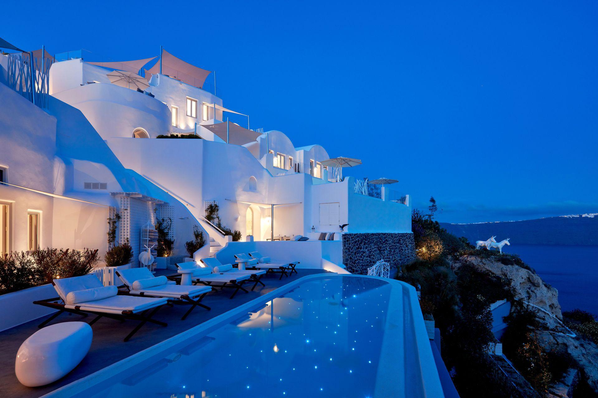 Canaves Oia Hotel Amp Suites Luxury Hotel Santorini Island