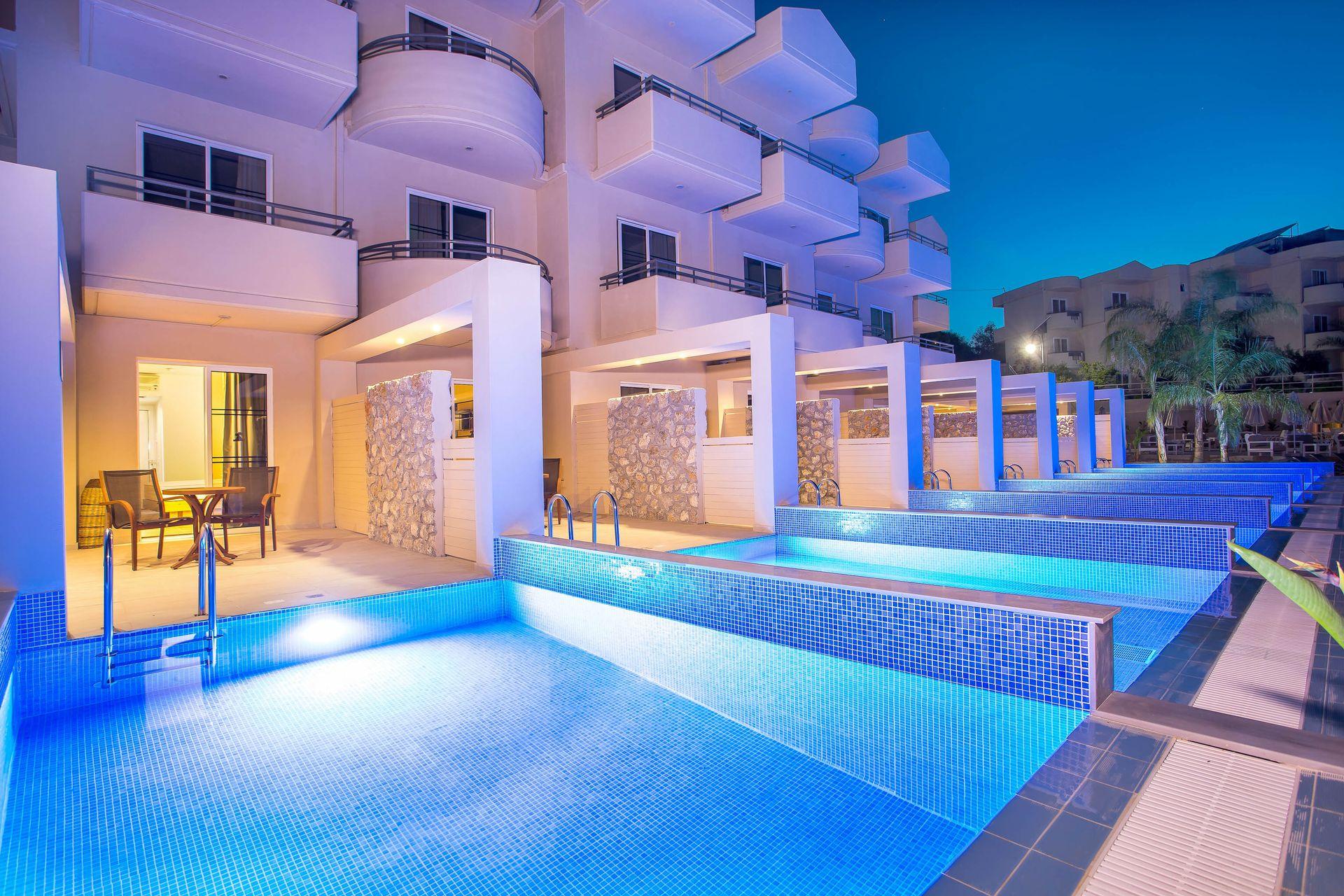 Venezia Resort Hotel Faliraki Rhodes Greece Book Online