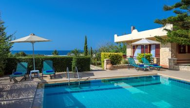 Amazing villas in Crete - Villa Argiris - Swimming pool