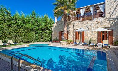 Amazing villas in Crete - Villa Asteri 1) Swimming pool