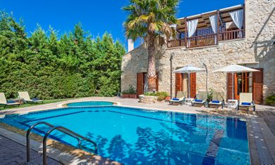 Amazing villas in Crete - Villa Asteri - Swimming pool