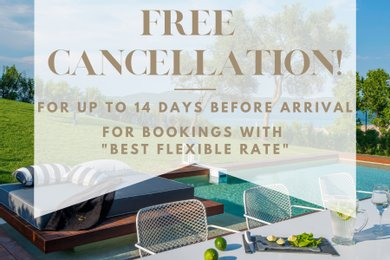 Free Cancellation for up to 14 days before arrival!