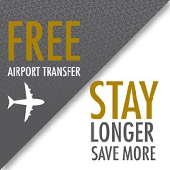 Free Airport Taxi-Transfer - 7 Days stay package